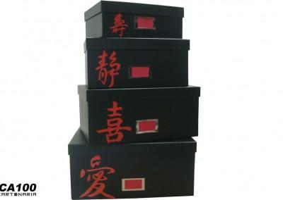 Caixas para closet com porta etiqueta identificadora [CA100]