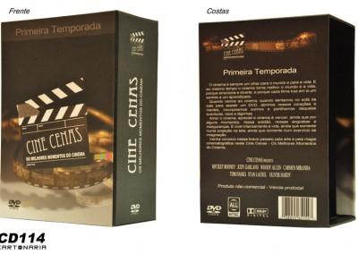 Box para DVD [CA114]