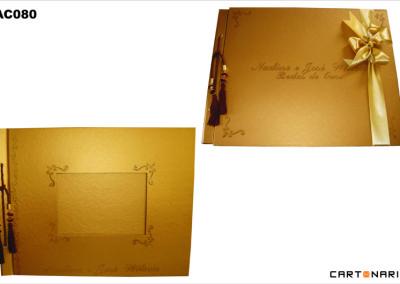 Album de fotografias de casamento [AC080]