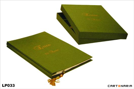 Livro de presença personalizado [LP033]