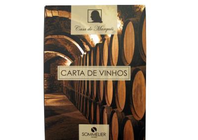 Casa do Marques (carta de vinhos) [CD374]