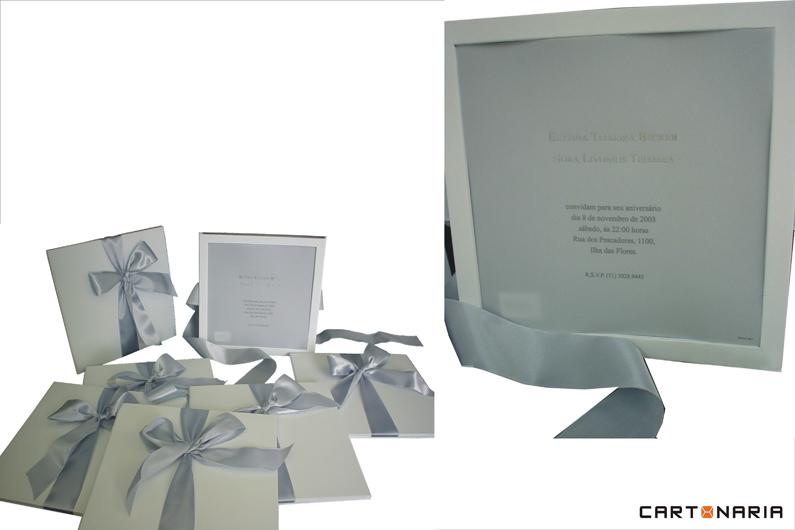 Convite de aniversário [CV003]
