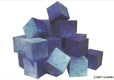 Cubos para exposição de arte [OT021]