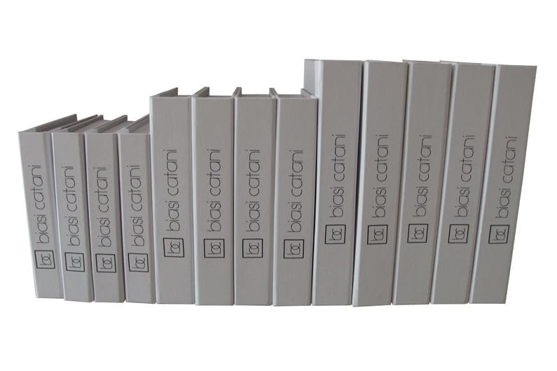 Biasi Catani (livros falsos para decoração de loja de móveis) [OT052]
