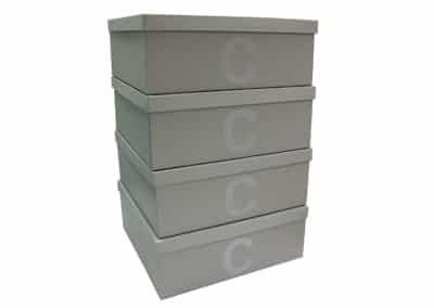 Caixas para closet com inicial [CA117]