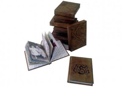 Mini-livro com luva (lembrança de aniversário) [LC013]