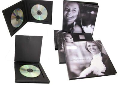 Porta simples e duplo CD ou DVD [PC009]