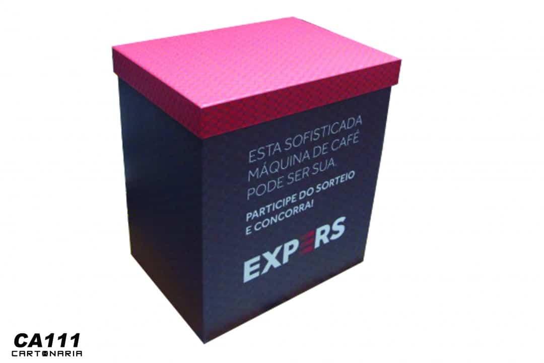 Caixa para entrega de prêmio [CA111]