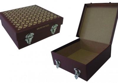 Grupo Matizes (maleta para brindes da Churrascaria Fogo de Chão) [MA058]
