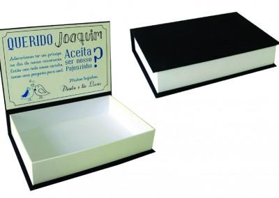 Caixa para presente de padrinhos e madrinhas [PA134]