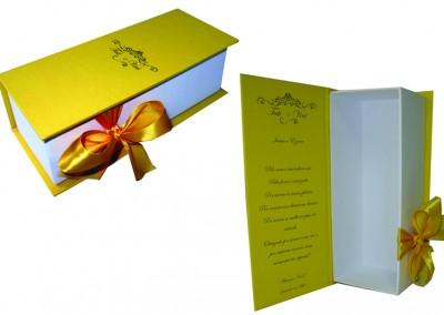 Caixa para presente de padrinhos e madrinhas [PA136 ]