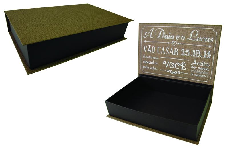Caixa para presente de padrinhos e madrinhas [PA138]