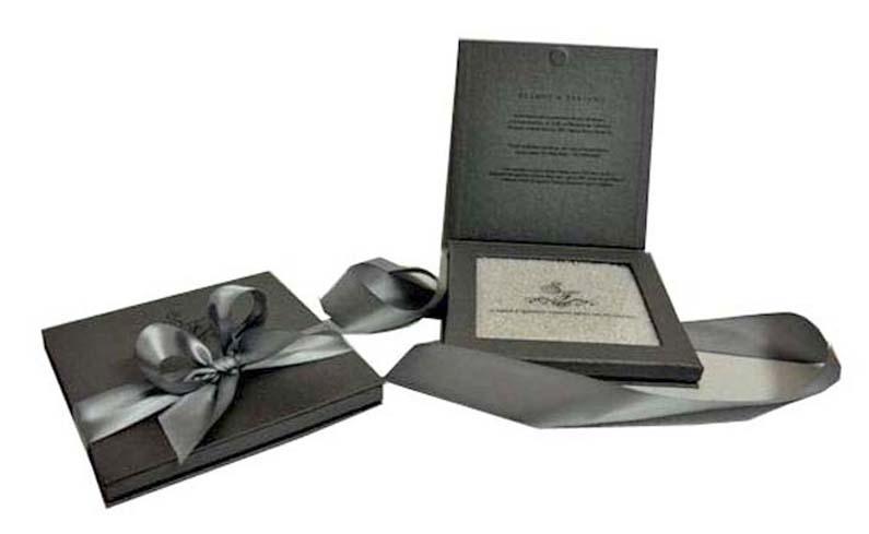 Convite de casamento com arroz [CV007]