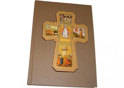 Livro costurado com aplique em cima [LC020]