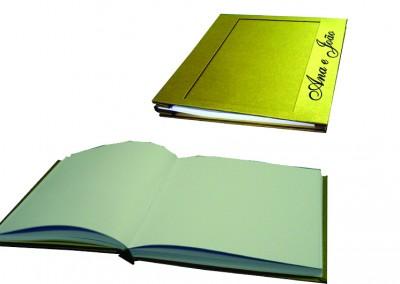 Livro de presença costurado [LC023]