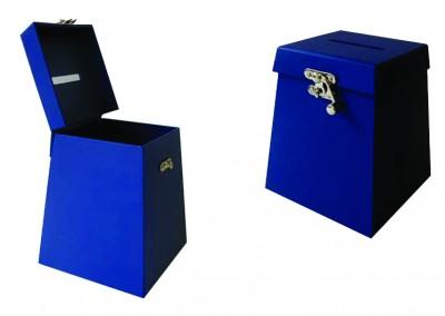 Urna com abertura em cima para envelopes [OT057]