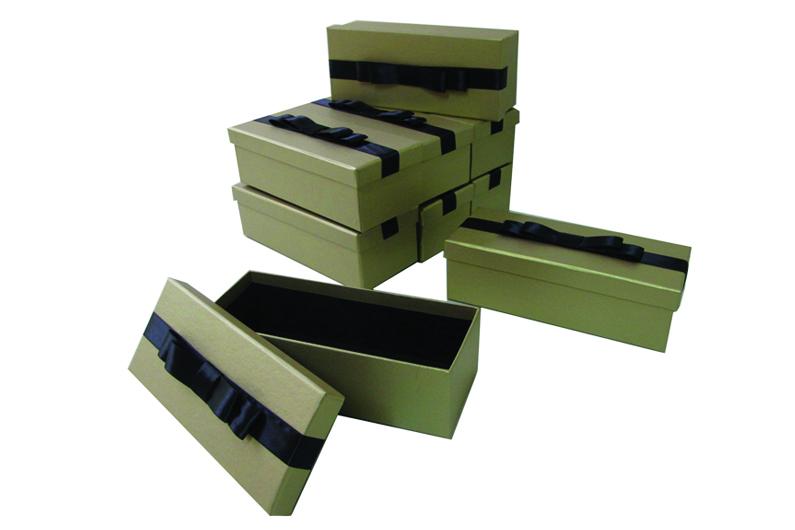Caixa com laço chanel duplo [CA215]