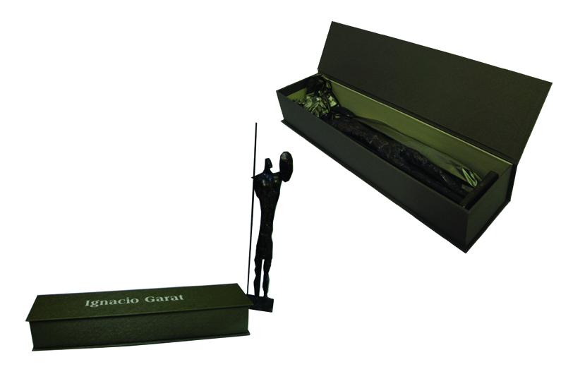Caixa personalizada para escultura [PA222]