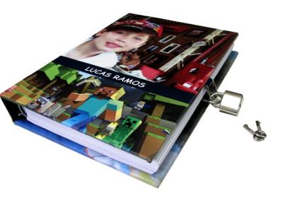 Livro com cadeado [LC024]