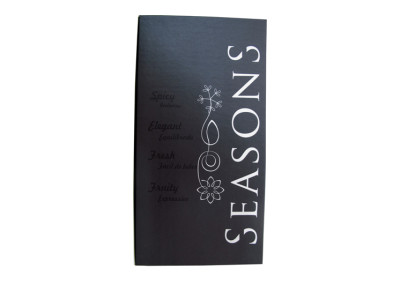 Seasons (carta de vinhos) [CD433]