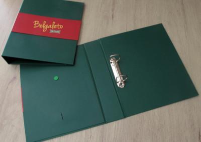 Belgaleto (fichario para manual de franquias) [CP152]
