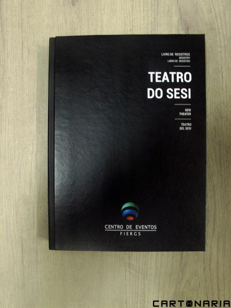 Livro de registro do Teatro do Sesi – FIERGS [LC026]