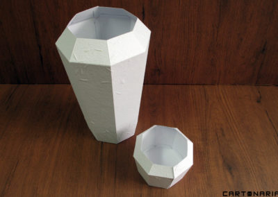 Protótipo de vaso biodegradável [OT067]