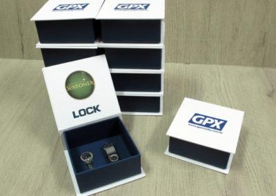 Lock Engenharia (caixa para entrega de chaves) [PA345]