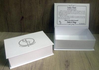 Caixa-convite de padrinhos [PA388]