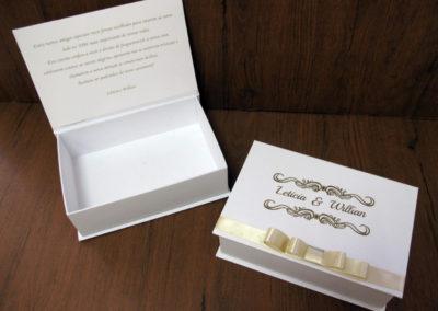 Caixa-convite de padrinhos [PA326]
