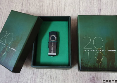 Unicred (caixa para pen drive) [CA296]